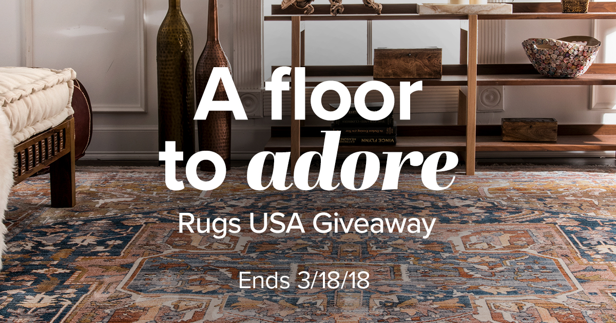 Enter the Jane.com + Rugs USA Giveaway