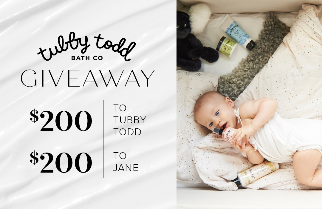Enter the Tubby Todd Bath Co + Jane.com Giveaway